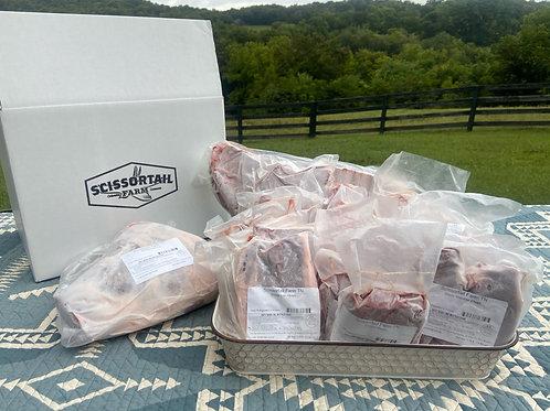 Wholesale Half Lamb- Whole Leg Option 2a