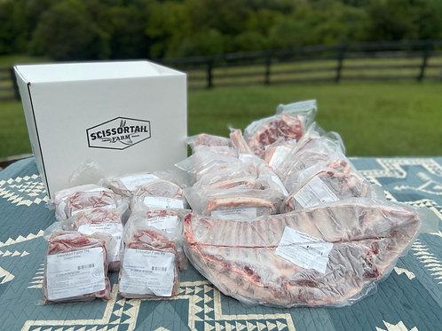 Wholesale Half Lamb-  Leg Steaks Option 4a