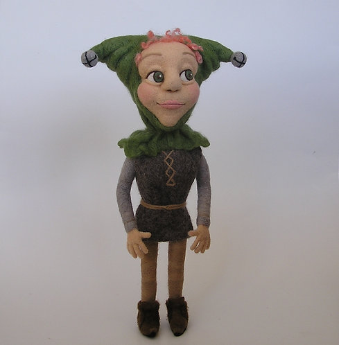 Morgan - A Needle Felted Jester