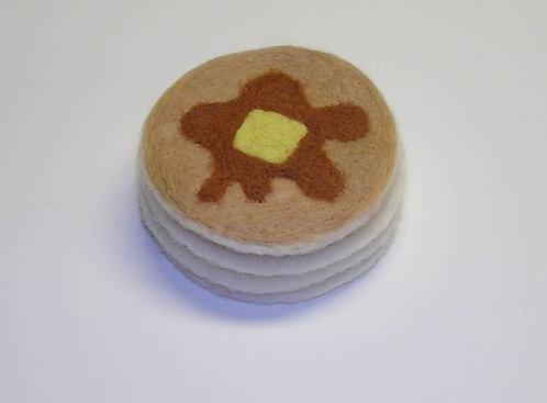 Pancake Coasters Felting Kit