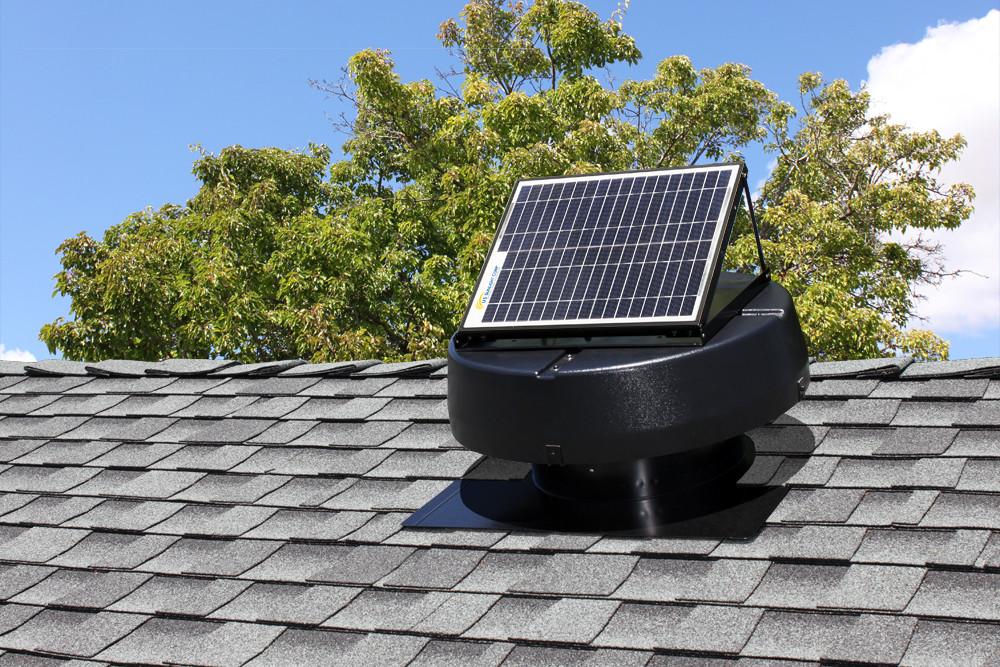 Solar Air Extractor / Extractor de aire solar