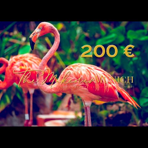 Wertgutschein über 200 €