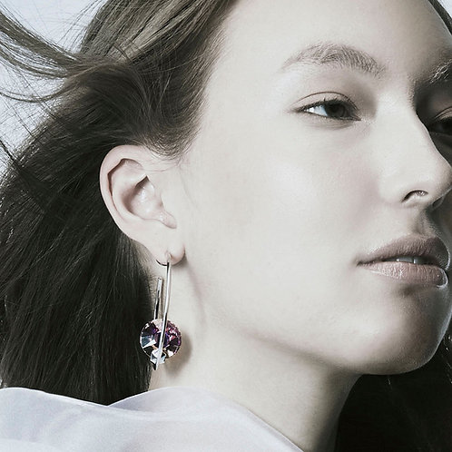 Altered-Native Round earrings (pair)