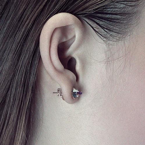 Altered-Native Pyramid Stud earrings (pair)