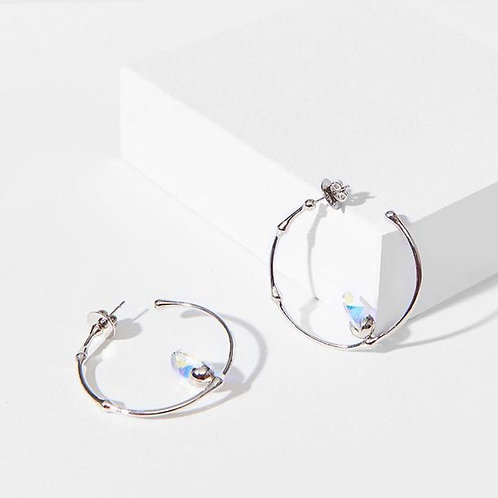 Flux Round earrings (pair)