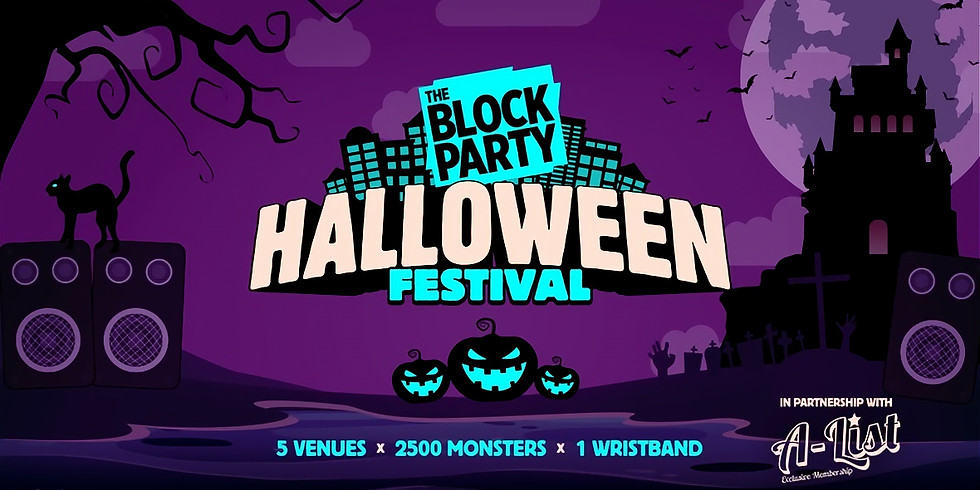 The Block Party: Halloween Festival 2020