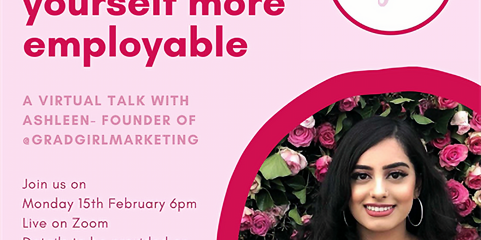 Marketing Society- How to Make Yourself More Employable