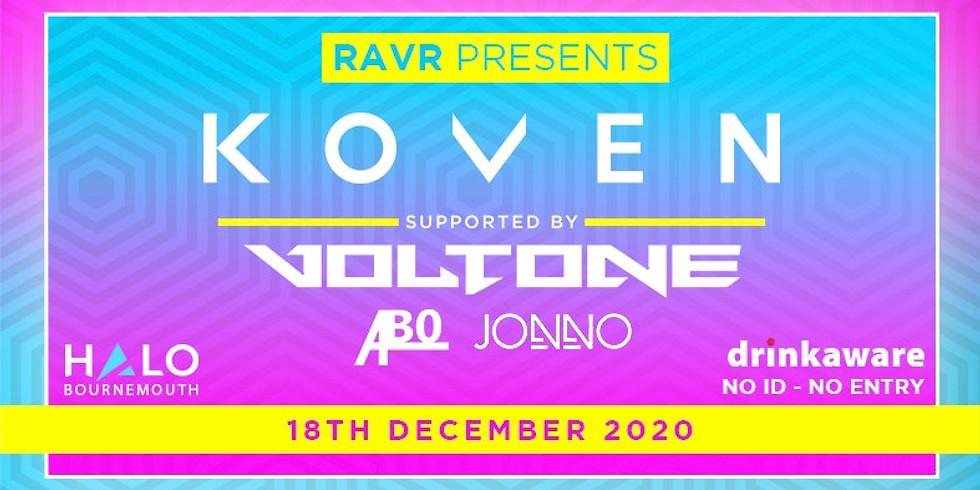 RAVR presents K O V E N
