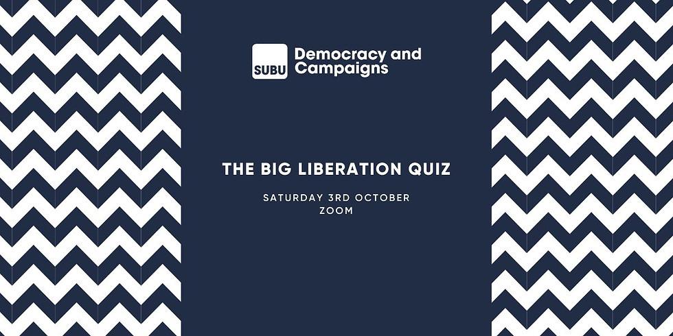 The SUBU Big liberation Quiz