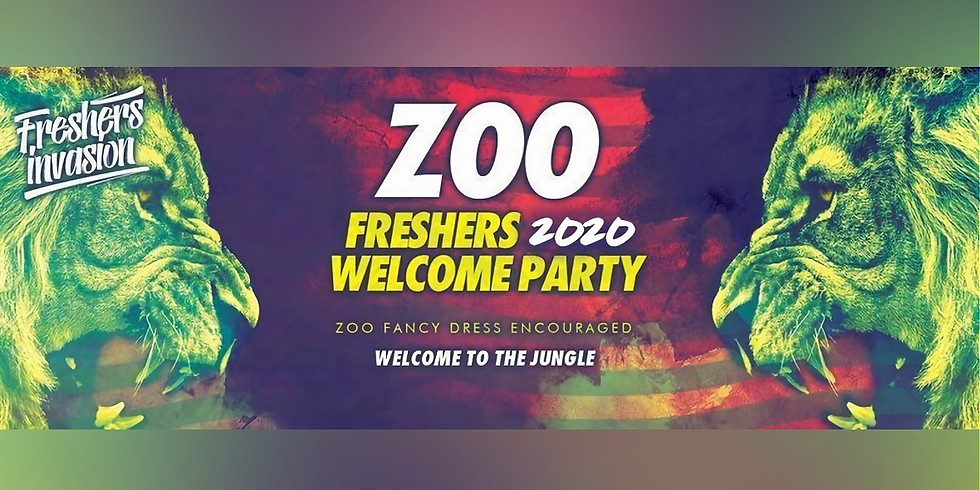 Bournemouth Freshers Welcome Party | ZOO Theme Special