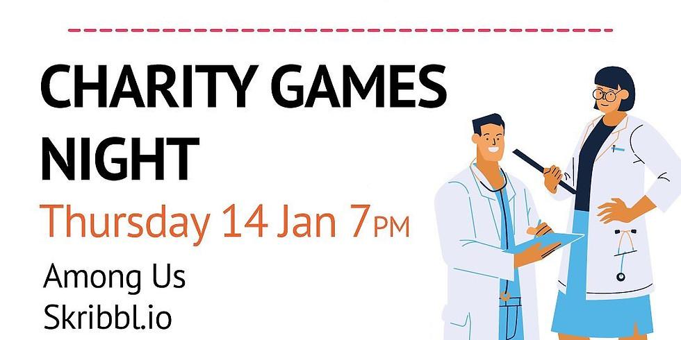 Charity Games Night🎮🕹