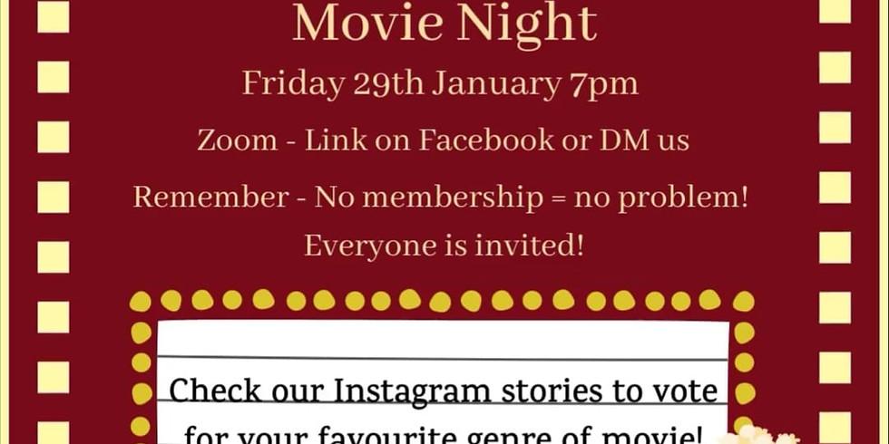 BU First Aid Society - Movie Night