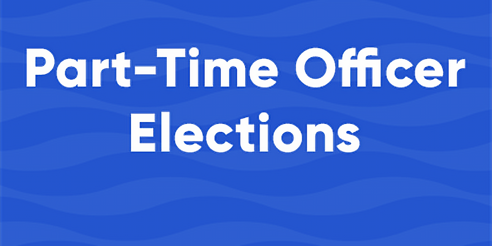 Part Time Officer Elections