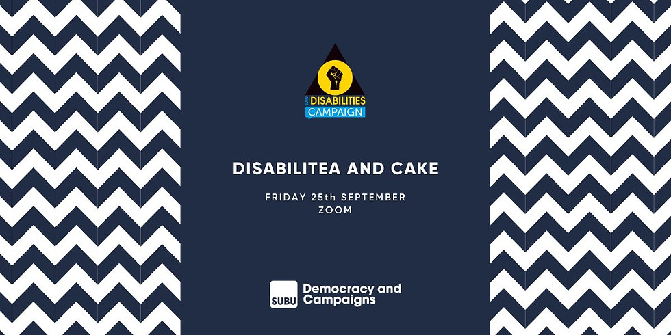 Disabilitea and Cake Afternoon