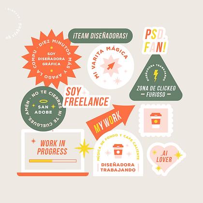 Stickers para Stories | Team Diseñadoras