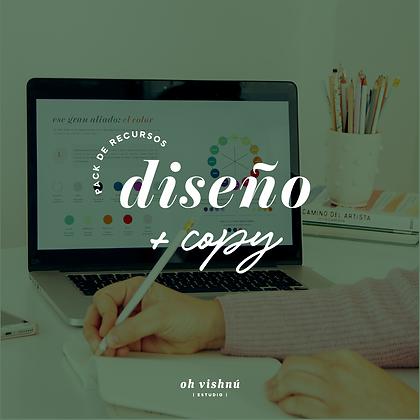 Pack Taller Online de Diseño en Canva + Workbook convertite en Copywriter