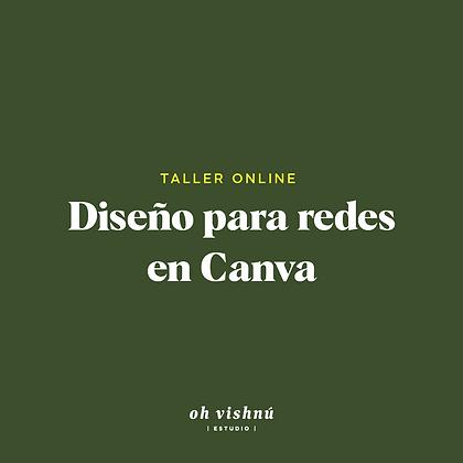 Taller Online Diseño en Canva