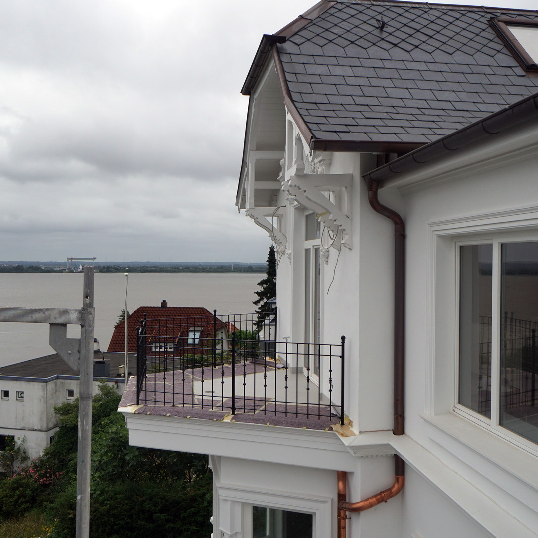 Altbau-Fassade Blankenese