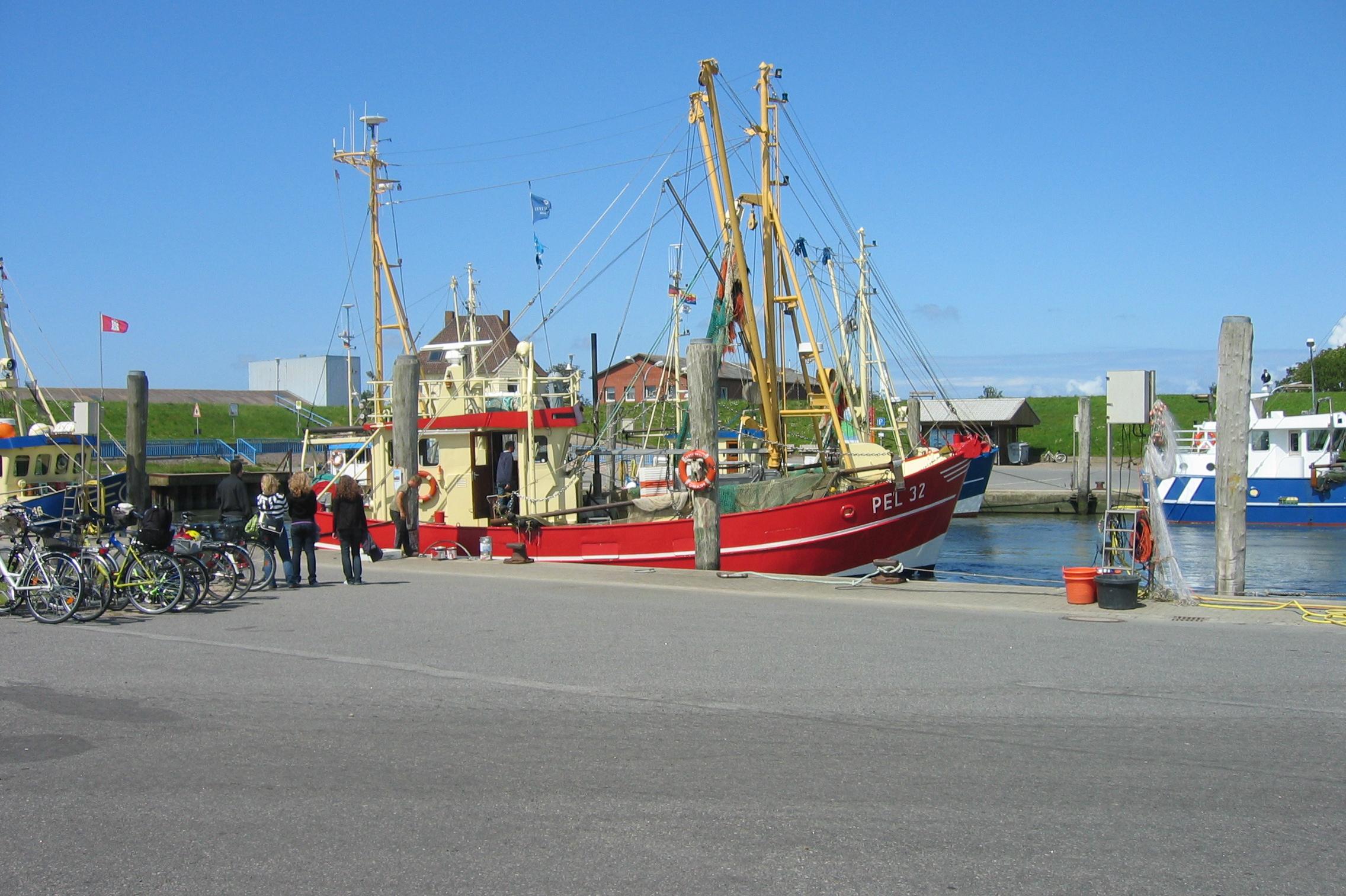 Hafen Pellworm