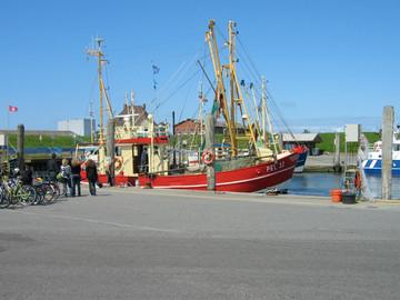 Pellworms malerischer Hafen