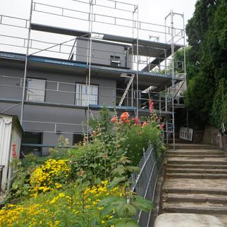 Neubaufassade Treppenviertel