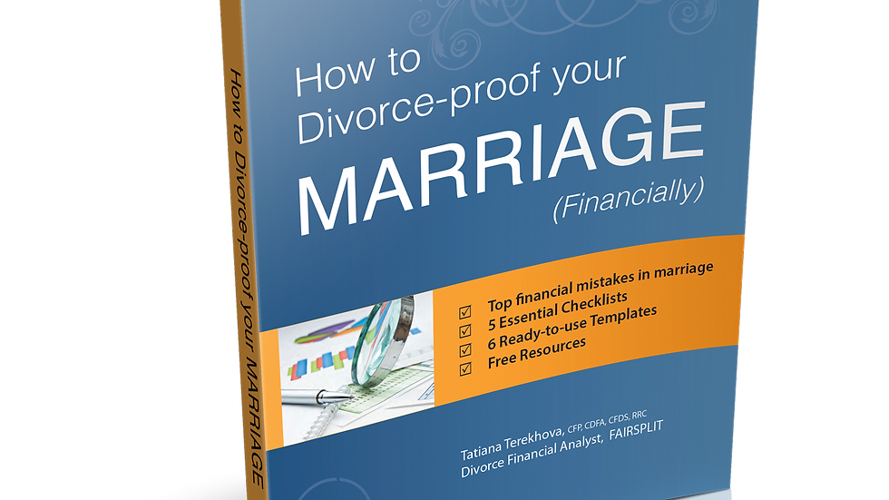 How To Divorce-Proof Your MARRIAGE. Financially.