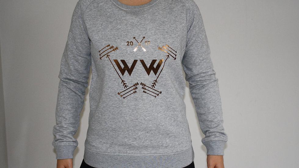 Warrior Woman® Logo Full Length Sweatshirt