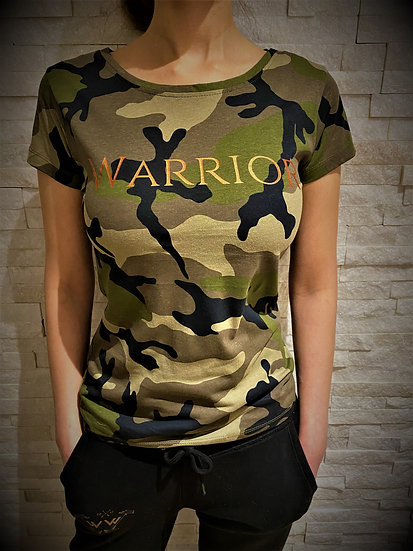 Warrior Woman® Camo Tee