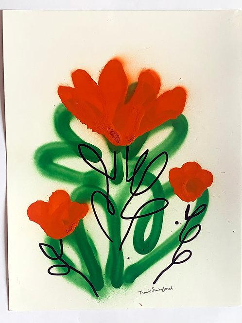 floral sketch 8