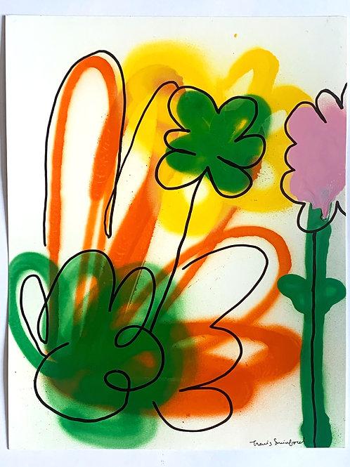 floral sketch 3