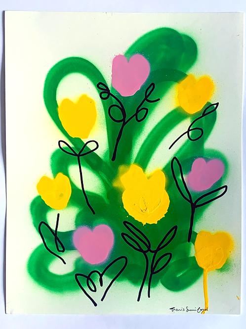 floral sketch 5