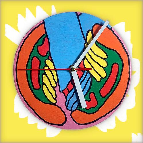 """sneaker"" clock"