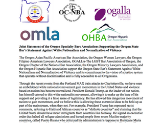 OFALA and Oregon Specialty Bars Stand Against White Nationalism & Normalization of Violence