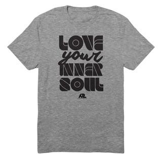 Love Your Inner Soul Words - Gray