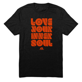 Love Your Inner Soul Words - Orange