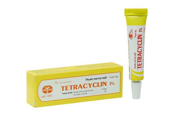 Thuốc mỡ tra mắt Tetracyclin