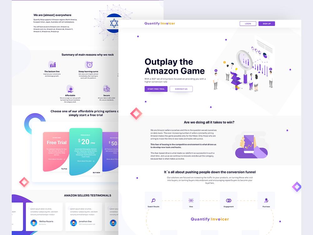 Landing Page - Blitz Creatives