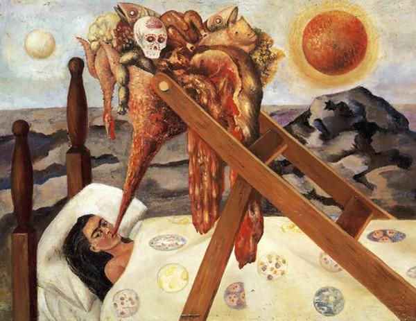 FRIDA KAHLO (1907-1954) 'Sin Esperanza (Without Hope)', 1945 (tranh sơn dầu trên giấy bồi) - Blitz Creatives