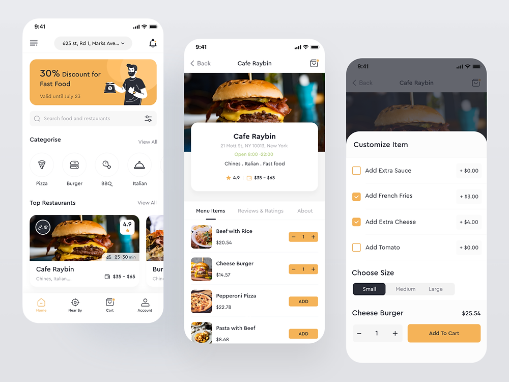 Project: Foodly by Imran - Blitz Creatives