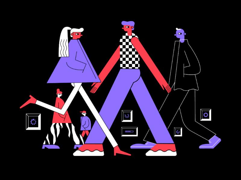 Minh họa bởi Mari Kinovych - Blitz Creatives