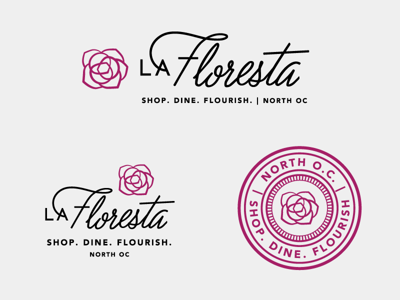 Hệ thống Logo La Floresta bởi Amy Hood cho Hoodzpah - Blitz Creatives