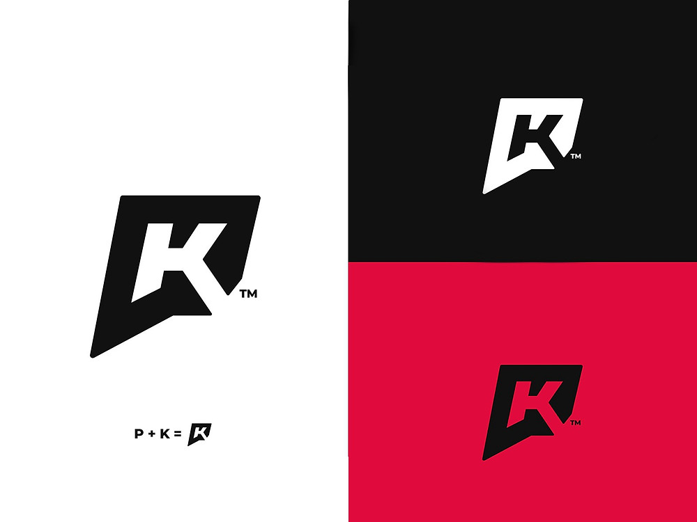 PK Monogram — Personal Branding by Spectre - Blitz Creatives