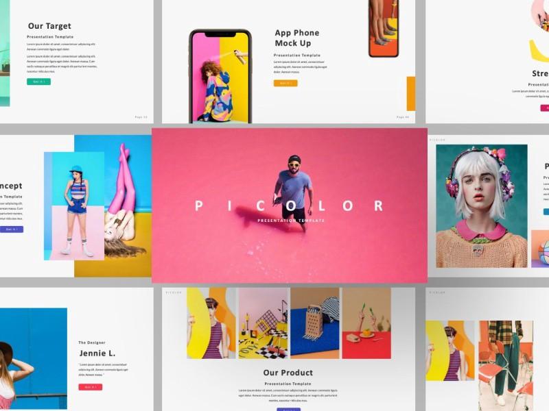 Picolor Creatives Google Slide - Blitz Creatives