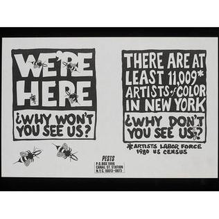 """""""Chúng tôi, 11.009 nghệ sĩ da màu ở New York này. Tại sao không thấy chúng tôi?"""" - Blitz Creatives"""