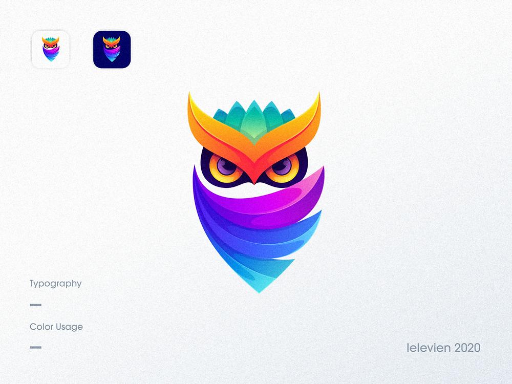 Owl Logo by Lelevien - Blitz Creatives