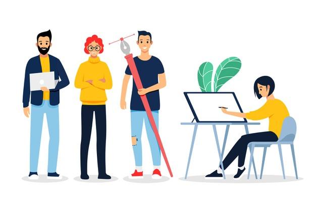 Tại Úc, mức lương dành cho sinh viên thiết kế mới ra trường trung bình 50.000 đô la Úc/năm - Blitz Creatives