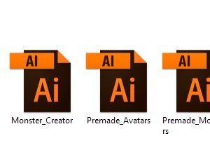 File vector định dạng .ai - Blitz Creatives