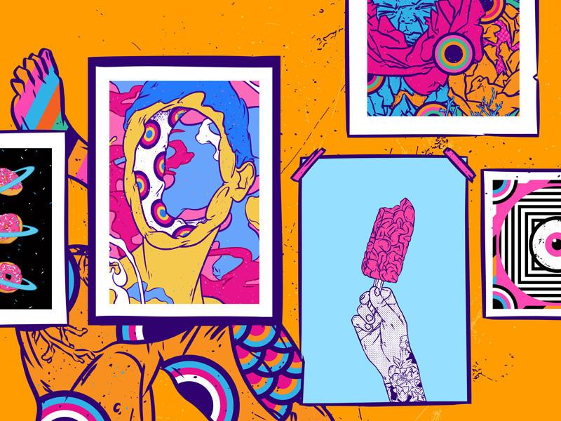 Minh họa bởi Evgenia Chuvardina - Blitz Creatives