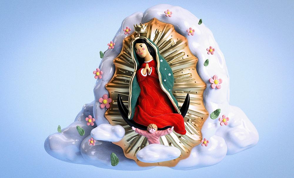 Đức Trinh Nữ Guadalupe - Blitz Creatives