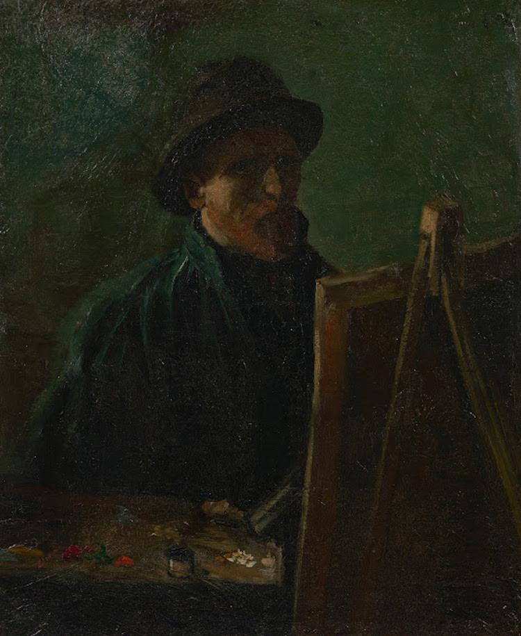 """""""Chân dung tự họa trong vai trò là một họa sĩ,"""" 1886 (Ảnh: Wikimedia Commons) - Blitz Creatives"""